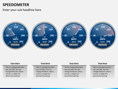 Speedometer PPT slide 4