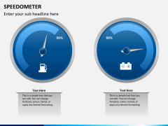 Speedometer PPT slide 5