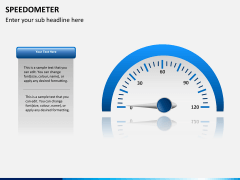 Speedometer PPT slide 7