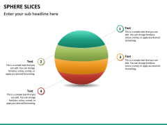 Sphere slices PPT slide 9
