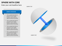 Sphere with core PPT slide 4