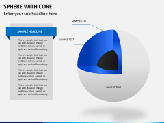 Sphere with core PPT slide 5