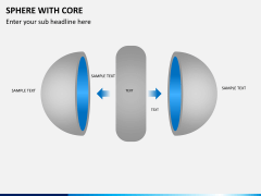 Sphere with core PPT slide 6