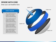 Sphere with core PPT slide 7