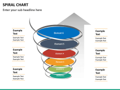 Spiral chart PPT slide 16