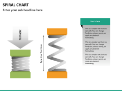 Spiral chart PPT slide 29