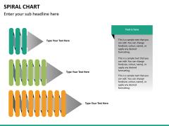 Spiral chart PPT slide 30