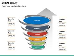 Spiral chart PPT slide 24