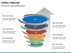 Spiral Timeline PPT slide 23