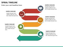 Spiral Timeline PPT slide 15