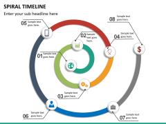 Spiral Timeline PPT slide 18