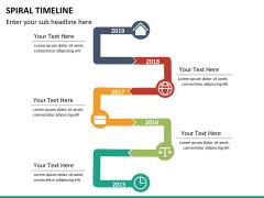Spiral Timeline PPT slide 21