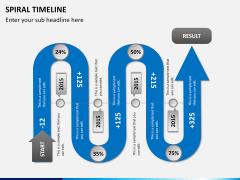 Spiral Timeline PPT slide 12