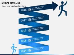 Spiral Timeline PPT slide 2