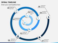Spiral Timeline PPT slide 6