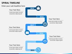 Spiral Timeline PPT slide 8