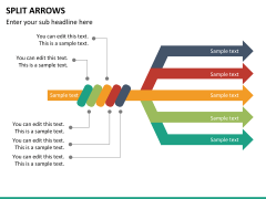 Arrows bundle PPT slide 91