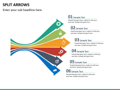 Arrows bundle PPT slide 93