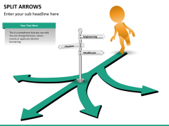 Split Arrows PPT slide 15