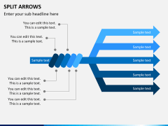 Arrows bundle PPT slide 25
