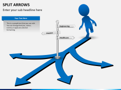 Split Arrows PPT slide 7