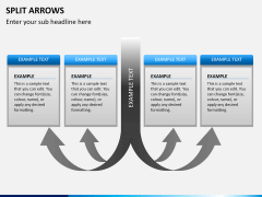Split Arrows PPT slide 8