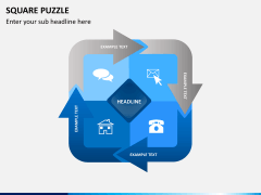 Square puzzle PPT slide 4