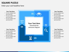 Square puzzle PPT slide 8