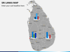 Sri lanka map PPT slide 15
