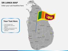 Sri lanka map PPT slide 19