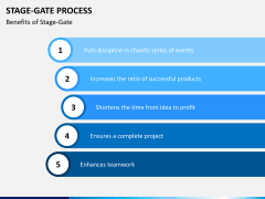 Stage-gate process PPT slide 7