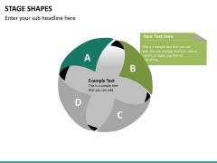 Stage shapes PPT slide 18