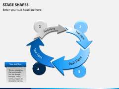 Stage shapes PPT slide 10