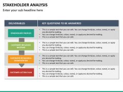 Stakeholder analysis PPT slide 37