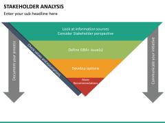 Stakeholder analysis PPT slide 38