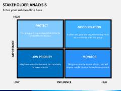 Stakeholder analysis PPT slide 10