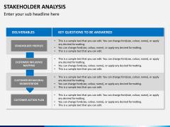 Stakeholder analysis PPT slide 15