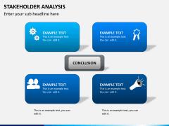 Stakeholder analysis PPT slide 2
