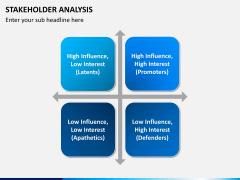Stakeholder analysis PPT slide 3