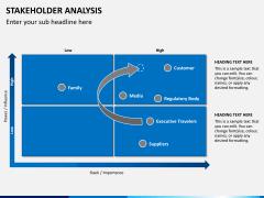 Stakeholder analysis PPT slide 5