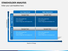 Stakeholder analysis PPT slide 8