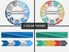 Stakeholder engagement PPT cover slide