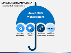 Stakeholder Management PPT slide 1