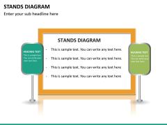 Stands diagram PPT slide 17