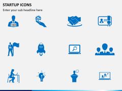 Startup Icons PPT slide 1