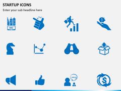 Startup Icons PPT slide 2