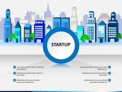 Startup PPT slide 1