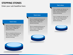 Stepping stones PPT slide 10