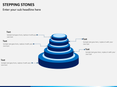 Stepping stones PPT slide 5