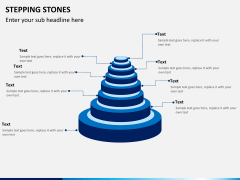 Stepping stones PPT slide 8